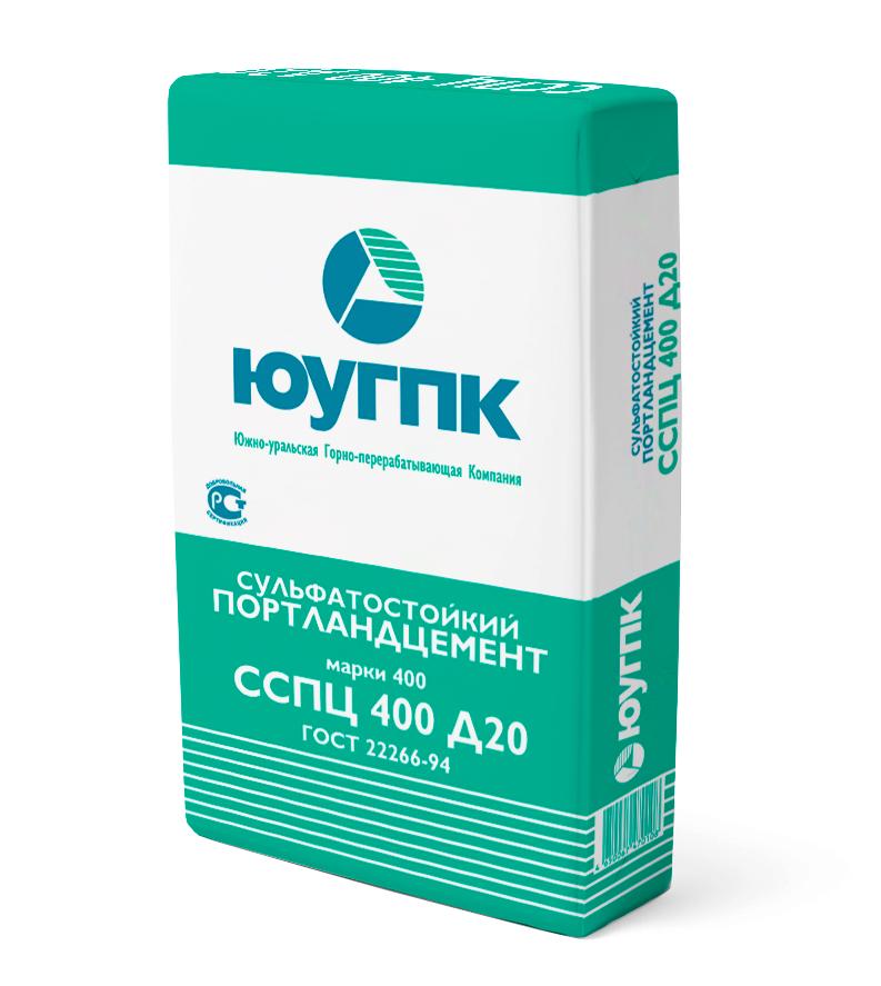 Сульфатостойкий портландцемент ССПЦ 400-Д20